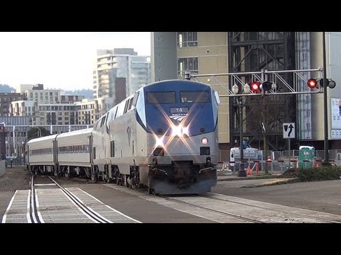 U Pull It Portland Amtrak departs Portland Union