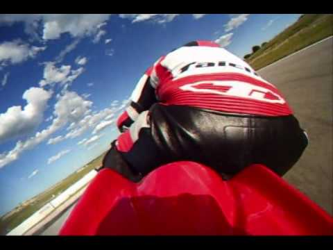 Aprilia RSV4 Factory at Eagles Canyon Raceway Video