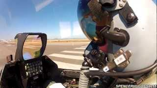GoPro [COCKPIT VIDEO] F-16C Fighting Falcon Take-Off