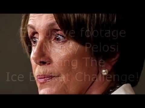 Nancy Pelosi takes the ALS