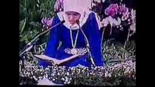 Qoriah Dina Andriani Nuzulul Qur'an di Istana Negara