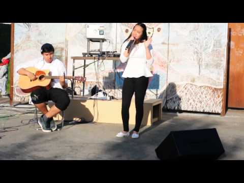 Cee-Lo Green - Crazy (COVER by Cecilia ft. Gideon)