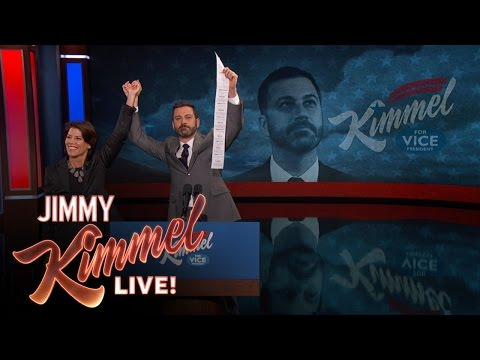 VP Candidate Jimmy Kimmel & CVS President Announce New Receipt Policy