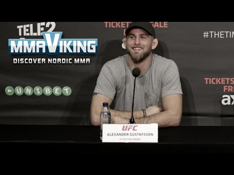 UFC Sweden 4 Press Conference Highlights w/ Alexander Gustafsson and Anthony Johnson