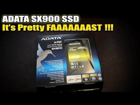 ADATA XPG SX900 SSD - Benchmarking and Review