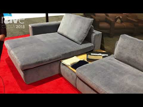 CEDIA 2018: CinemaTech Talks About Paseo Home Theater Seating Solution
