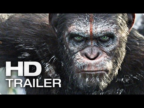 PLANET DER AFFEN: Revolution Offizieller Trailer Deutsch German | 2014 [HD]