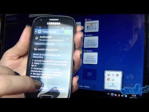 Tethering - Samsung Galaxy S3 Mini [Ro]