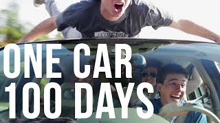 100 Days In One Car | #TBT
