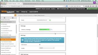 learn how to create a child name server WHM web accounts cpanel set for Wordpress tutorials