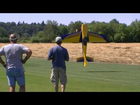 Low Hovering giant scale RC plane