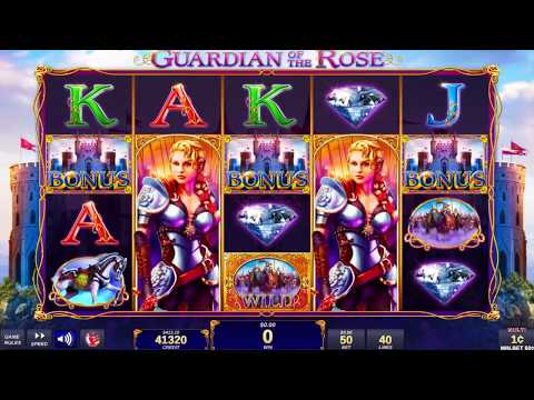 Guardian of the Rose™ Video Slots by IGT Game Play Video