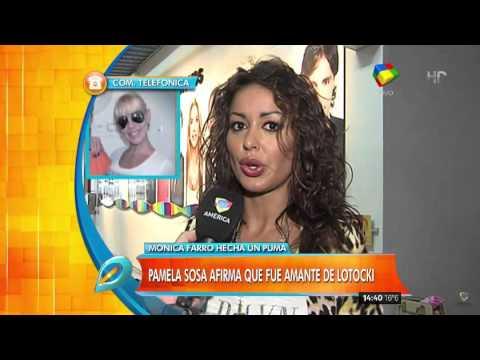 """Pamela Sosa: """"Farro fue amante de Lotocki mientras estaba conmigo"""""""