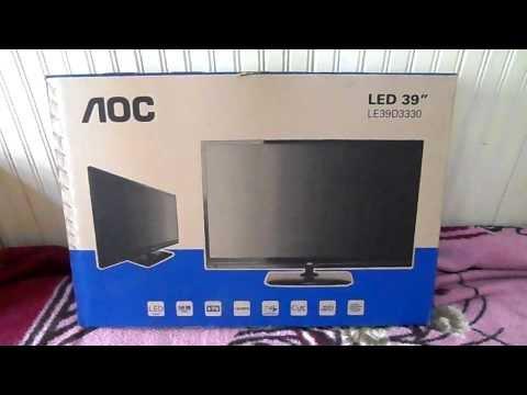 Unboxing TV LED 39