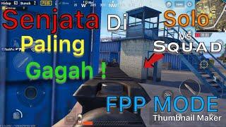 PUBG Mobile | Solo vs Squad | Di Kasih Kar98k & Peredam Auto God Aim ! #2 | 14 Kills !