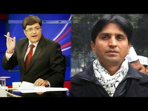 The Newshour Debate: Aap Leader Kumar Vishwas - Exclusive Interview (9th Sept 2014) video