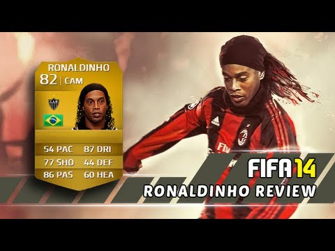 Ronaldinho Review   Fifa 14 Ultimate Team
