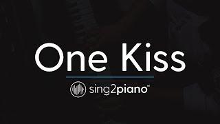 Ouça One Kiss Piano Karaoke Instrumental Calvin Harris & Dua Lipa