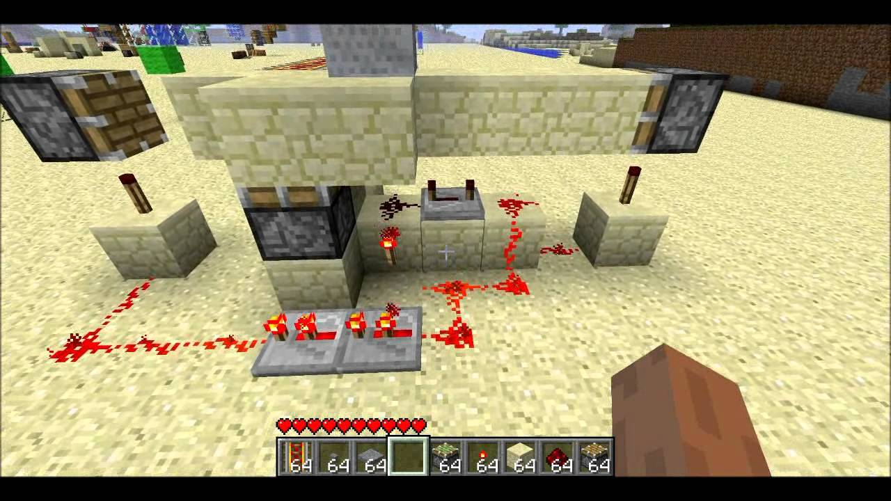 minecraft how to make a soul sand trap