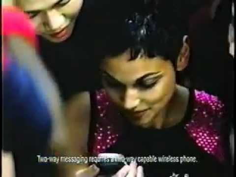 Verizon Wireless Mobile Messenger Ad from 2000