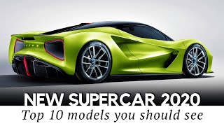 10 Most Anticipated Supercars of the Upcoming 2020 (Guide to Latest Models)