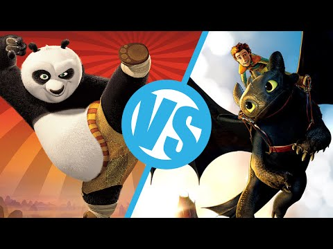 How to Train Your Dragon VS Kung Fu Panda : Movie Feuds ep83 Image 1