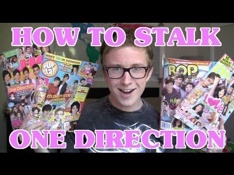 HOW TO: Stalk One Direction   Tyler Oakley