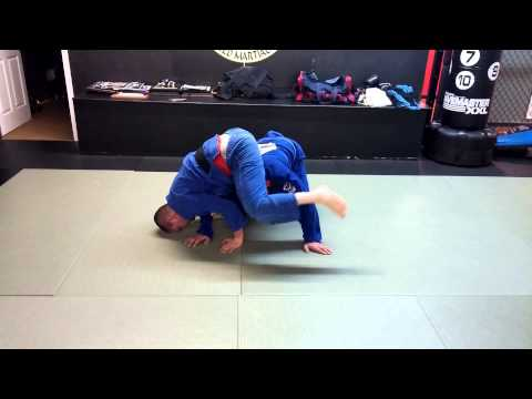 Inverted armbar drill Image 1