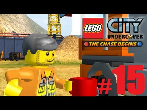 Lets Play Lego City Undercover The Chase Begins Nintendo 3DS Part 15 + Pick Up Down The Docks !