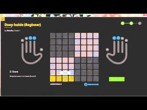 Melodics научится играть Launchpad с нуля (для новичков)