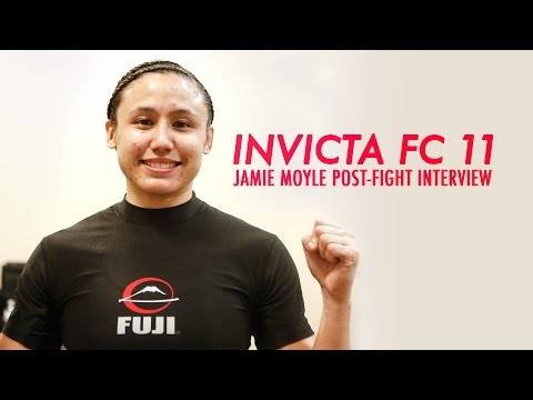 Invicta FC 11: Jamie Moyle Post-Fight Interview