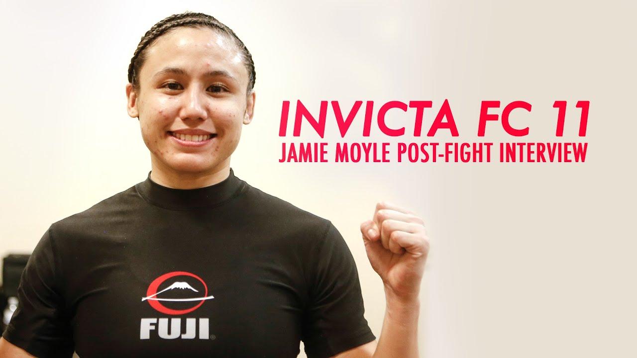 Jamie Moyle Invicta Invicta fc 11 Jamie Moyle
