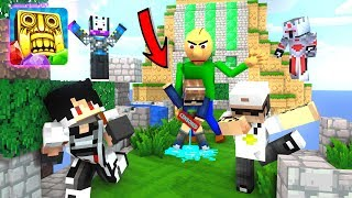 Kartun KOCAK !! Di kejar Pak NDUL sampai ngompol !! Temple RUN Part 2 - Minecraft Animation