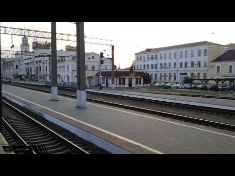 [РЖД] [ЭР9П-К] Прибытие на станцию Краснодар-1