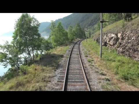 Russia - Train ride along Lake Baikal