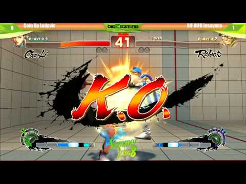 Summer Jam 8 - Ultra Street Fighter 4 Top 8 - Coin Up Ludovic Vs Eif Bifu Insaynne video