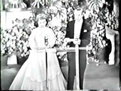 Walt Disney presented with an award at the 25th Academy Awards