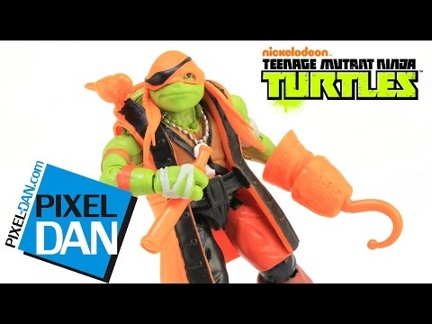 Michelangelo in Pirate Costume Teenage Mutant Ninja Turtles Out of the Shadows Figure Video Review