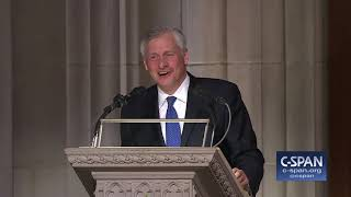Jon Meacham Tribute to President George H.W. Bush (C-SPAN)