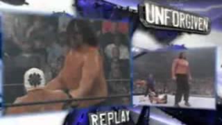 Batista vs Rey Mysterio vs The Great Khali Unforgiven 2007