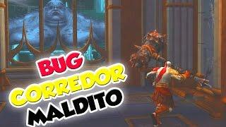 GOD OF WAR BUG DO CORREDOR MALDITO