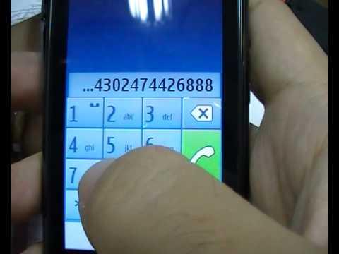 ปลดล็อค NOKIA N8 E7 C7 C6 C5 C3 5250 N86 X5 unlock