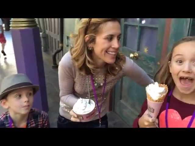Diagon Alley Florean Fortescue's Ice Cream Parlour #UniversalMoments