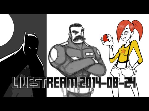 Livestream 2014-08-24 Drawings