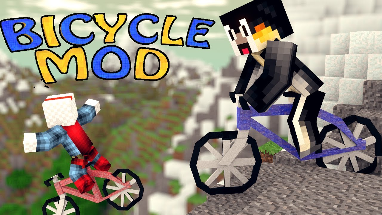 Bike Mod Minecraft 1.7.2 Minecraft Bicycle Mod