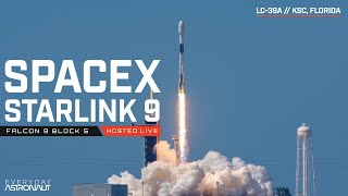 (SCRUBBED) Watch SpaceX Launch 57 Starlink Satellites PLUS 2 other BlackSky Global satellites!
