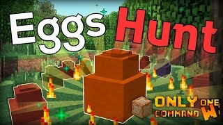 Easter Eggs Hunt in MINECRAFT in one command  (EASTER LUCKY BLOCKS)