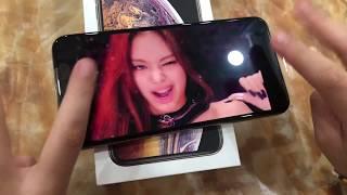 Đập hộp iPhone xs max | unbox | Tám chuyện với siri cùng cindy