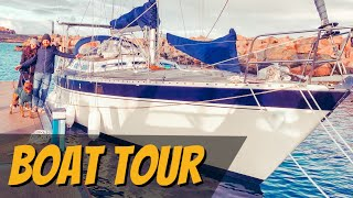 E4: We Bought A Blue Water Sailing Boat!! - (Boat Tour)