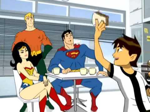 Cartoon Network- Ben10 x batman